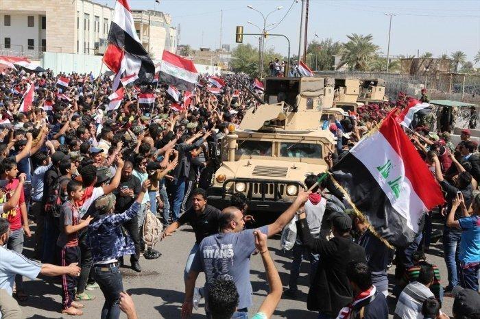 В Ираке продолжаются антиправительственные протесты.