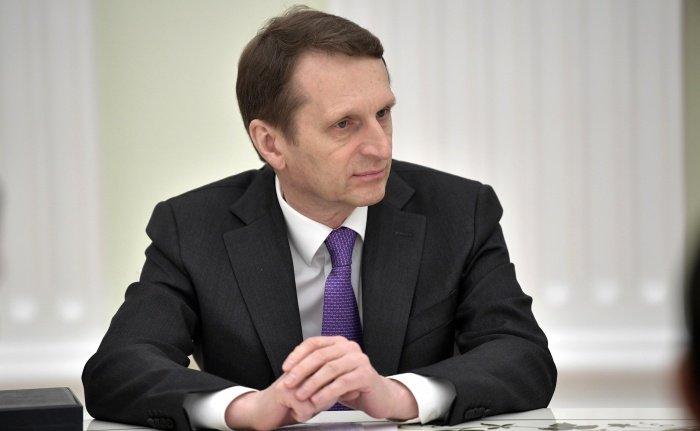 Сергей Нарышкин встретился с коллегой из Ирана.