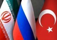 Россия, Иран и Турция опубликовали заявление по Сирии