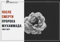 События, происходившие после смерти Пророка Мухаммада (ﷺ)