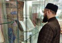 Муфтий РТ ознакомился с исламским наследием в Национальной библиотеке Беларуси