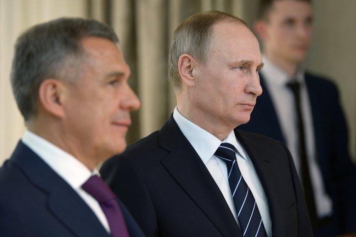 Путин и Минниханов встретятся «на полях» юбилея КАМАЗа