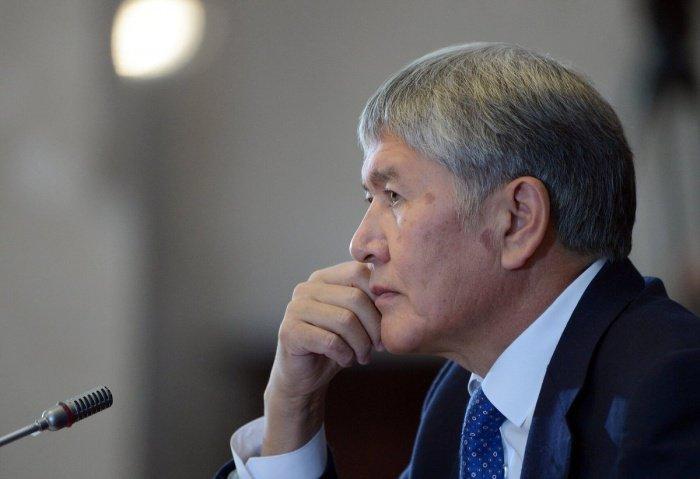 Алмазбек Атамбаев обвиняется в убийстве спецназовца.