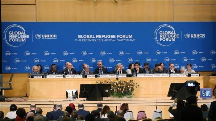 Глобальный форум по беженцам проходит в Женеве.