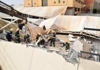 В Саудовской Аравии обрушение ограждения университета привело к жертвам