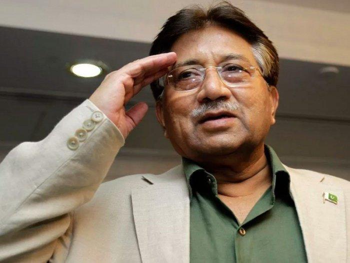 Первез Мушарраф опубликовал видеообращение.