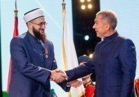 Президент Татарстана наградил муфтия медалью «100 лет образования ТАССР»