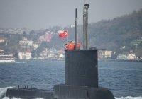 Турция построит 6 подводных лодок к 2027 году
