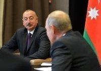 Путин отметил вклад Алиева в развитие партнерства России и Азербайджана