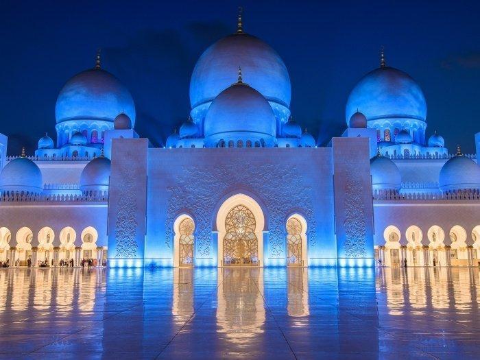 Мечеть шейха Заеда в Абу-Даби.