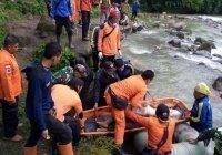 В Индонезии 26 человек погибли при падении автобуса в ущелье