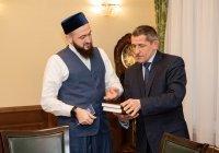 Муфтий РТ встретился с главой Лаишевского района