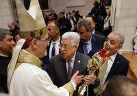 Махмуд Аббас поздравил палестинских христиан с Рождеством