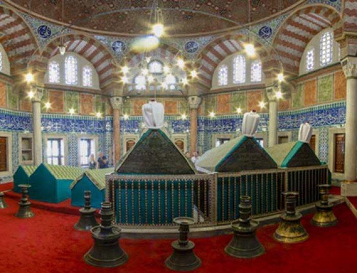 Мавзолей Сулеймана Кануни (внутри)