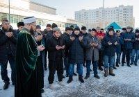 Строительству Исламского центра при мечети «Гаиля» дан официальный старт