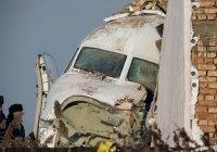 В Казахстане назвали возможные причины крушения самолета