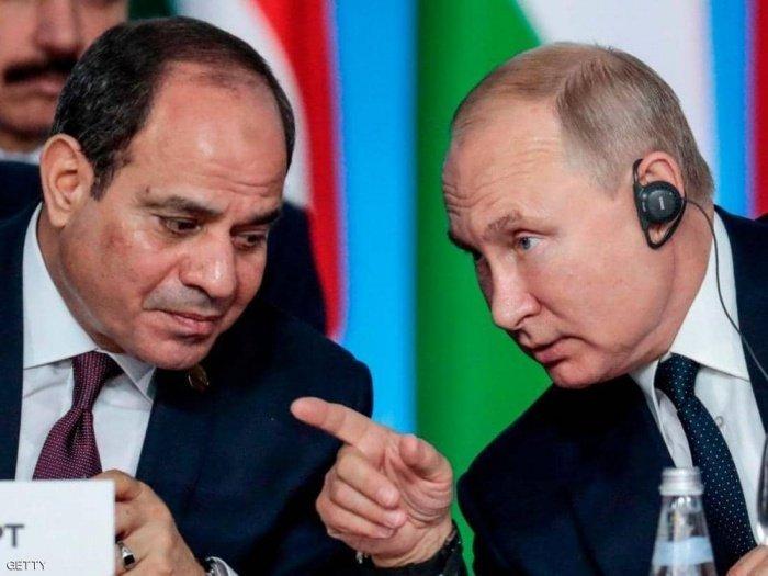 Президенты России и Египта обсудили кризис в Ливии.