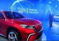 Эрдоган презентовал первый турецкий автомобиль
