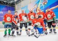 Камиль хазрат Самигуллин принял участие в межконфессиональном хоккейном матче