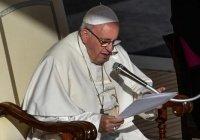 Папа Римский призвал молиться за жертв теракта в Сомали