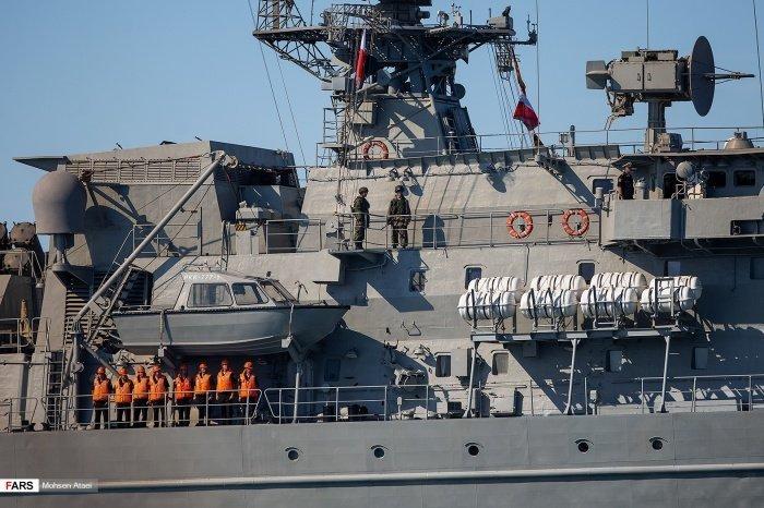 Россия, Иран и Китай завершают военно-морские учения.