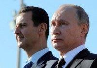 Башар Асад поблагодарил Россию за помощь в борьбе с терроризмом
