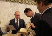 Владимир Путин посетил Большую мечеть Дамаска