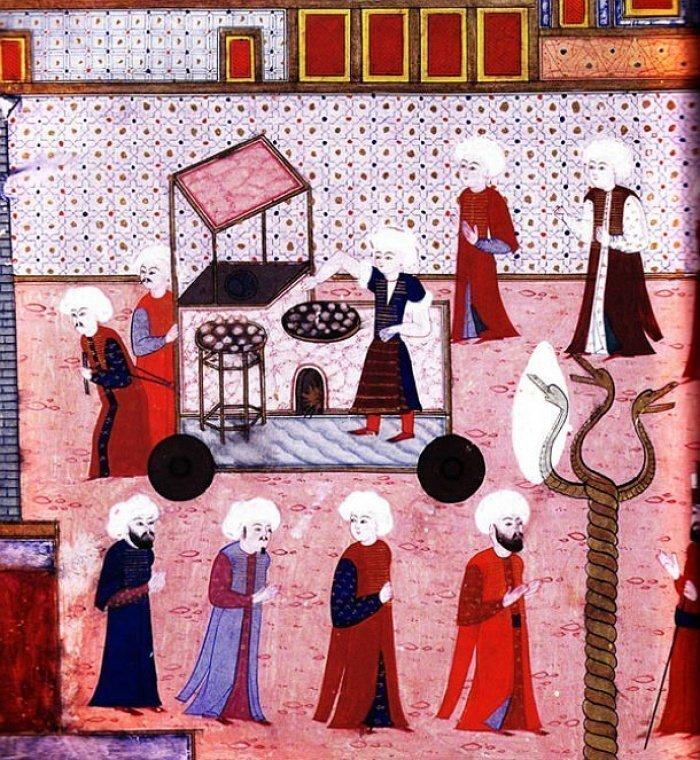 Турецкий дворцовый этикет: что и как ели османские султаны?