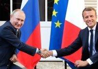Путин и Макрон обсудили ливийскую проблематику