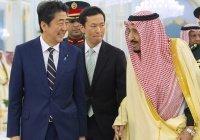 Синдзо Абэ встретился с королем Саудовской Аравии