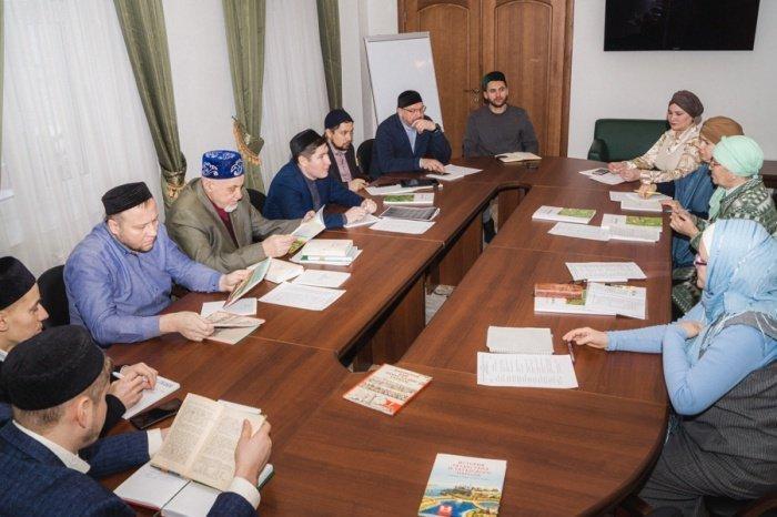 Участники совещания в резиденции ДУМ РТ.
