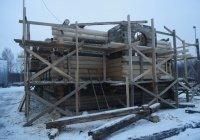 В Вологде продолжается реставрация старинной татарстанской деревянной мечети