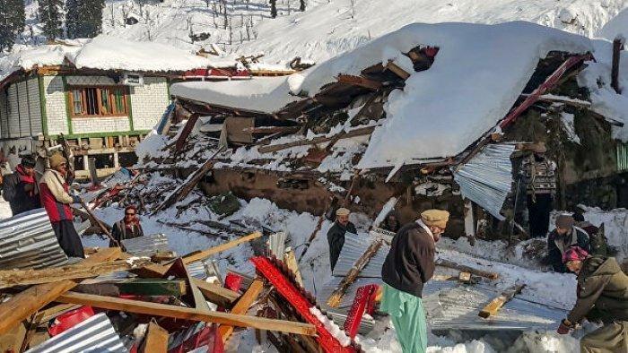 Непогода в Пакистане привела к человеческим жертвам.
