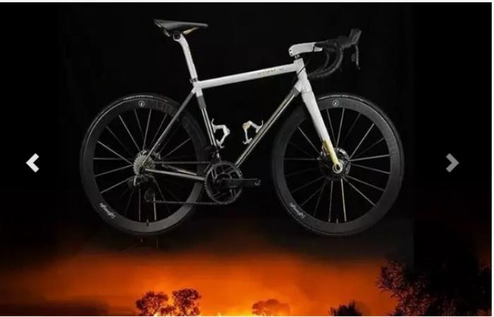 Средства от продажи велосипеда направят на помощь Австралии.