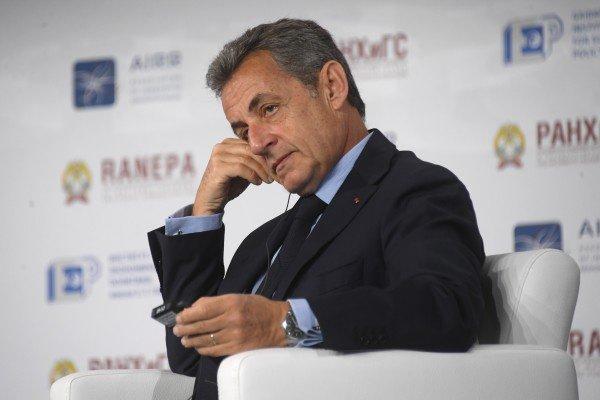 Николя Саркози принимает участие в работе Гайдаровского форума.