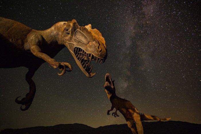 В организмах динозавров ртуть оказалась крайне быстро