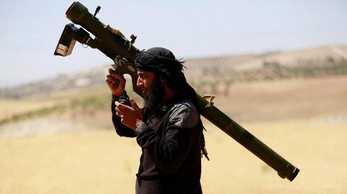 Сирийские боевики используют оружие стран НАТО.