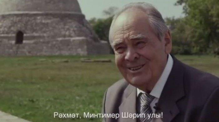 Кадр из видеоролика, опубликованного Рустамом Миннихановым.