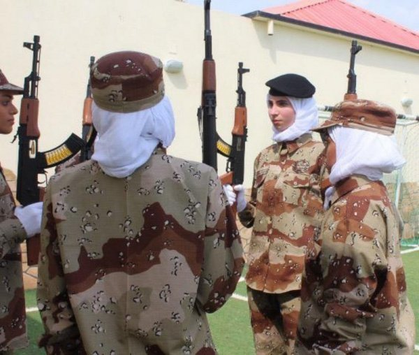 Первое женское подразделение появилось в саудовской армии