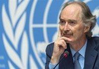 Спецпосланник ООН по Сирии встретится с Лавровым и Шойгу