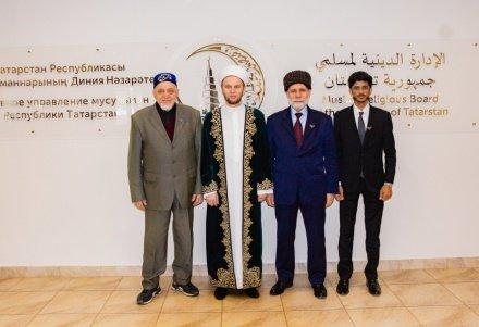 Ректор «Университета Мухаммеда V Абу-Даби» ознакомился с деятельностью ДУМ РТ