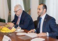 Посольство ОАЭ заинтересовали проекты муфтията Татарстана