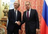 Лавров и Педерсен встретились в Москве