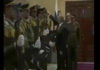 В сети обсуждают уважительный жест Путина в Палестине (Видео)
