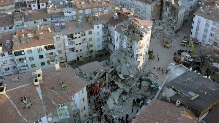 Мощное землетрясение произошло на востоке Турции.