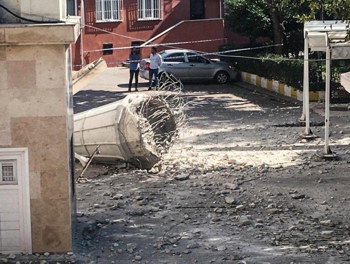 Мощное землетрясение может произойти в Стамбуле.