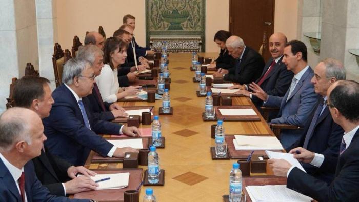 Встреча состоялась в Дамаске.