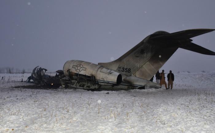 О крушении американского самолета стало известно 27 января.