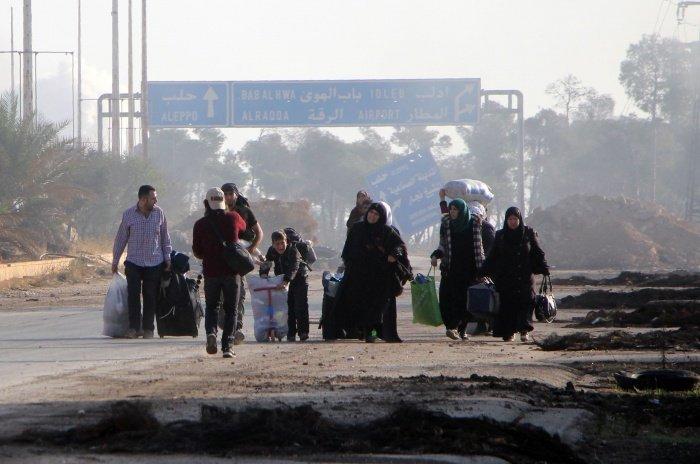 Сирийские беженцы возвращаются домой.