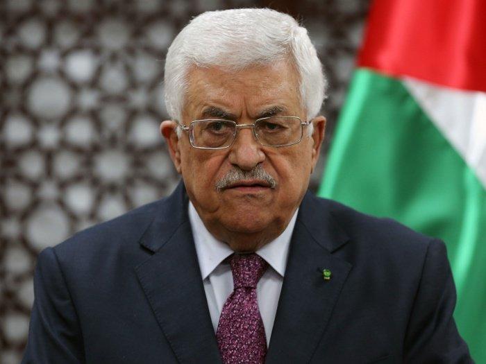 Махмуд Аббас.